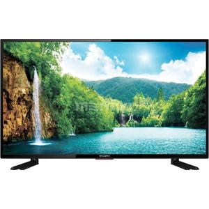 Фото - LED Телевизор StarWind SW-LED43F302BT2 выключатель werkel двухклавишный проходной с подсветкой шампань рифленый wl10 sw 2g 2w led золотой