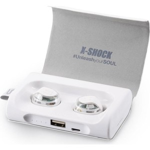 Наушники Soul X-Shock white