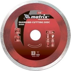 Диск алмазный Matrix 180x22 2 мм (73187)