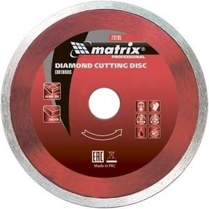 Диск алмазный Matrix 180x25 4 мм (73188) диск алмазный matrix 230x25 4 мм 73192