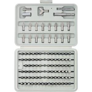 Набор бит SPARTA 100 предметов CrV (113975) набор бит sparta с адаптерами для бит в пластиковом боксе 100 предметов