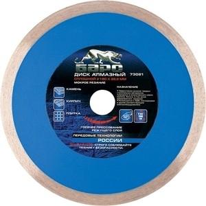 Диск алмазный Барс 230х22 2 мм (73083) диск алмазный сплошной по керамике bosch professional 230х22 2 мм