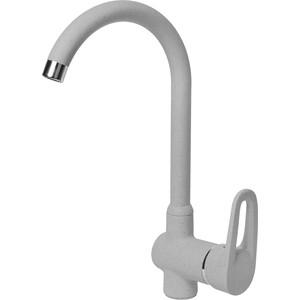 Смеситель для кухни AquaGranitEx серый (C-5035 (310))