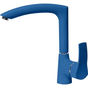Смеситель для кухни AquaGranitEx синий (C-7040 (323))