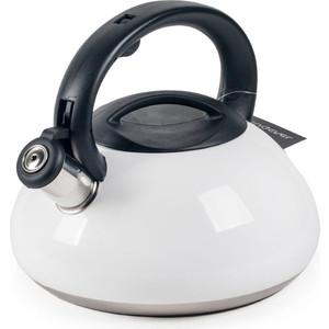 Чайник со свистком 3 л Endever Aquarelle-306 белый