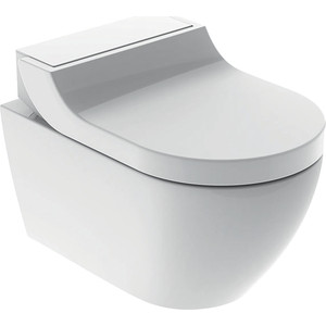 Унитаз-биде подвесной Geberit AquaClean Tuma Classic Rimfree, с сиденьем микролифт (146.094.11.1)