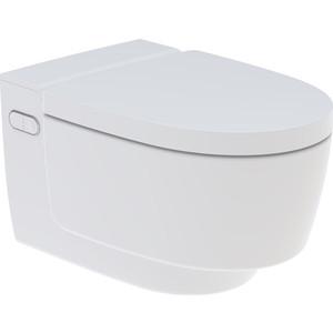 Унитаз-биде подвесной Geberit AquaClean Mera Classic Rimfree, с сиденьем микролифт, дизайн панель белая (146.204.11.1)