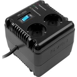 Стабилизатор напряжения Sven VR-L600 sven avr pro lcd 8000 стабилизатор напряжения