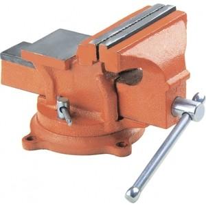 Тиски слесарные SPARTA 150 мм поворотные с наковальней (186275) тиски sparta 185055