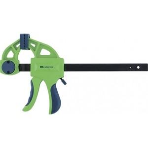 Струбцина СибрТех 900х70х1130 мм F - образная быстрозажимная (20568) струбцина f образная fit 50х150мм усиленная мягкая ручка