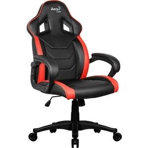 Кресло для геймера Aerocool AC60C AIR-BR черно-красное кресло для геймера aerocool aero 2 alpha black blue черно синее до 150 кг шxдxв 64x67x111 119см газлифт класс 4 до 100 мм механизм бабочка