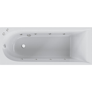 Акриловая ванна с гидромассажем Am.Pm Spirit 170х70 см (W72W-170-070W1D) все цены