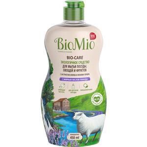 Жидкость для мытья посуды BioMio Bio-Care Лаванда, 450 мл