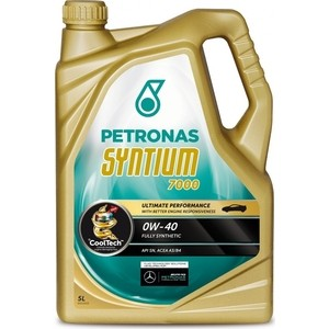 Моторное масло Petronas Syntium 7000 0W-40 5л