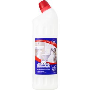 Средство чистящее ХОЗЯЙКИНЪ PROFESSIONAL ГЕЛЬ универсальный, для сантехники, чистящий , 1л glorix чистящее средство для пола деликатные поверхности 1л