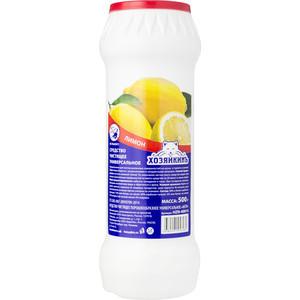 Средство чистящее ХОЗЯЙКИНЪ ЛИМОН, универсальное, порошок, 500 г средство чистящее comet лимон б хлоринола 475г порошок