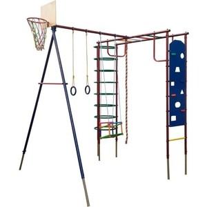 Детский спортивный комплекс Вертикаль Сатурн со скалодромом дачный