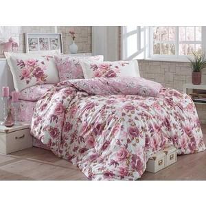 Комплект постельного белья Hobby home collection 1,5 сп, поплин Alessia темный-пудра (1501001766)