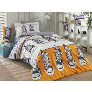 Комплект постельного белья Hobby home collection 1,5 сп, поплин Layla жёлтый (1501001420) цена