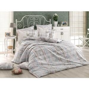 Комплект постельного белья Hobby home collection Евро, поплин Elenora серый (1501001324)
