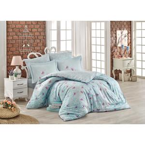Комплект постельного белья Hobby home collection Евро, сатин Maria минт (1501001721)