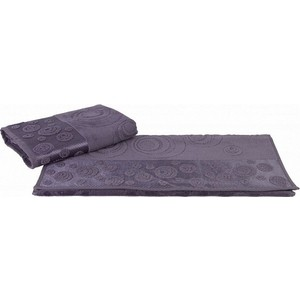Набор полотенец 2 штуки Hobby home collection 50x90 Belek темно-серый (1501001506) полотенце ecotex джаз 50x90 серый jt 01 m серый charcoal