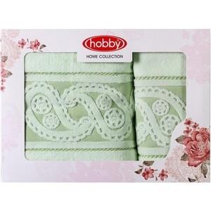 Набор полотенец 2 штуки Hobby home collection 50x90/70x140 Marmaris минт (1501001500) цены