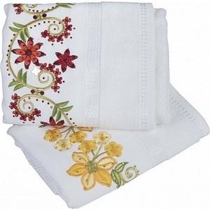 Набор полотенец 2 штуки Hobby home collection 50x90 Zumrut белый (1501002106)