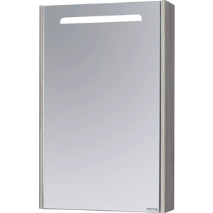 Зеркальный шкаф Акватон Сильва 50 дуб фьорд (1A215502SIW6L)