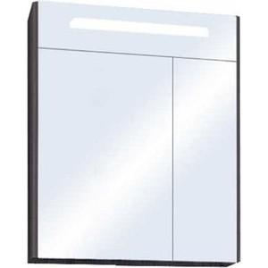 Зеркальный шкаф Акватон Сильва 60 дуб макиато (1A216202SIW50)