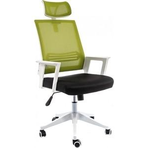 Компьютерное кресло Woodville Dreamer белое/черное/зеленое
