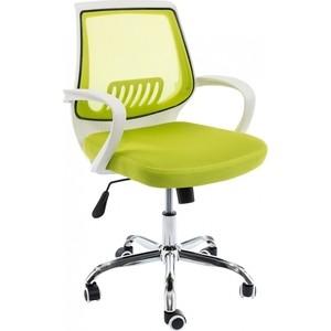 Компьютерное кресло Woodville Ergoplus белое/зеленое