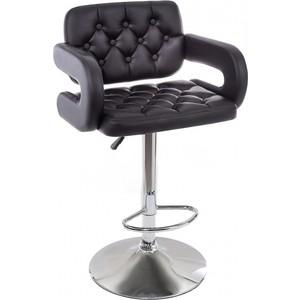 Барный стул Woodville Shiny черный