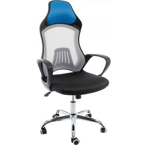 Компьютерное кресло Woodville Atlant белое/черное/голубое