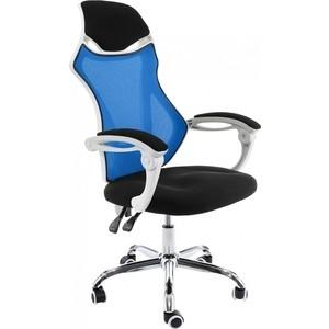Компьютерное кресло Woodville Armor белое/черное/голубое