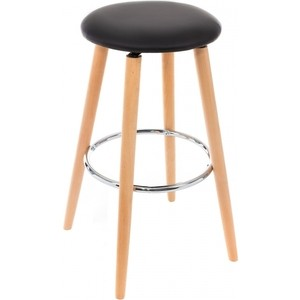 Барный стул Woodville Ring черный