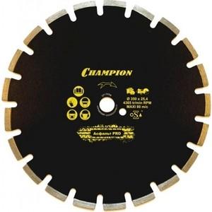 Диск алмазный Champion 350х25.4мм Asphafight (C1630)