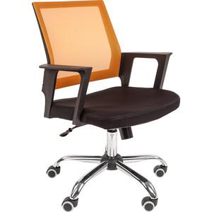 Офисное кресло Русские кресла РК 15 оранжевое хром кресло конф ц 811 кожзам черный хром 620978 шатура oфисные кресла