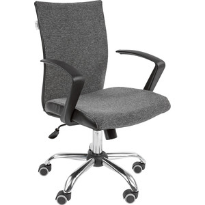 Офисное кресло Русские кресла РК 70 серый хром офисное кресло русские кресла рк 22 оранжевый
