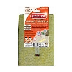 Тряпка для пола UNICUM Ideal 50*70 с отверстием швабры