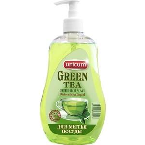 Средство для мытья посуды UNICUM Зеленый чай (Азиатская коллекция), 550 мл бытовая химия unicum средство для мытья посуды бережная энергия 550 мл
