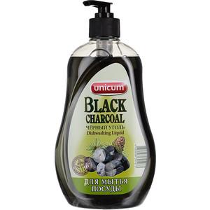 Средство для мытья посуды UNICUM Чёрный уголь (Азиатская коллекция), 550 мл бытовая химия unicum средство для мытья посуды бережная энергия 550 мл