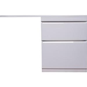 Тумба под раковину Style line Даллас Люкс 68 (130) белая, для стиральной машины (2000949105680)