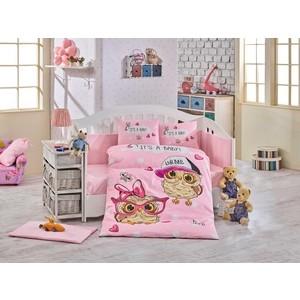 Комплект детского постельного белья Hobby home collection с одеялом поплин COOL BABY, розовый, 100% Хлопок