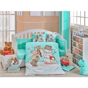 Комплект детского постельного белья Hobby home collection с одеялом поплин SNOWBALL, бежевый, 100% Хлопок снежкометатель snowball launcher