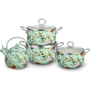Набор посуды 7 предметов Kelli (KL-4121) набор кухонных принадлежностей 5 предметов kelli kl 2114