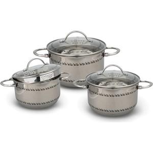 Набор посуды 6 предметов Kelli (KL-4264) цена