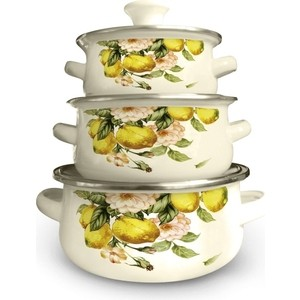 Набор посуды 6 предметов Kelli (KL-4451) цена