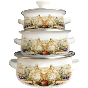 Набор посуды 6 предметов Kelli (KL-4452) цена