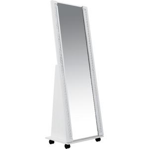 Зеркало напольное Комфорт - S Гертруда М7 белая лиственница/ясень жемчужный